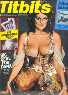Dana Gillespie - Titbits Magazine Cover [United Kingdom] (19 September 1974)