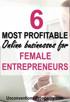 Female entrepreneurs are some of the best business owners in the world! Small freelance business is dominated by females and this article explains all the tips and tricks to starting an online business that will make you lots of money online! Ways To Earn Money, Earn Money Online, Online Jobs, Make Money From Home, Money Tips, Way To Make Money, How To Make, Money Hacks, Entrepreneur