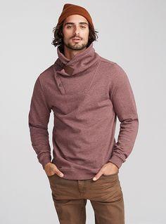 equestrian-collar-heather-sweatshirt