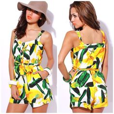 Fashion Tips, Fashion Design, Fashion Trends, Tankini, Tropical, Jumpsuit, Rompers, Summer Dresses, My Style