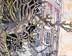 Tree Illustration, English Countryside, Green Man, Trees, Behance, Profile, Gallery, Creative, Check