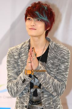 "[HQ PICS] 130217 Jaejoong's ""Your, My & Mine"" Mini-Concert FM in Thailand Press Conference - i really love the hair though ^_^"