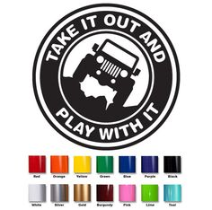 Jeep Decal #01 | Jeep Wrangler Window Decal on Etsy, $5.00