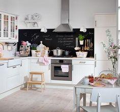 Tafelfarbe: Tipps zum Selbermachen: Kreative Küche - [LIVING AT HOME]