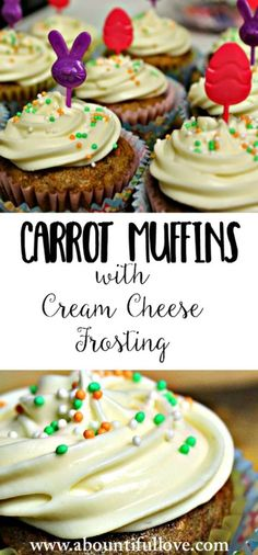 Taste so good! My daughter never liked carrots BUT she is over the moon with this easy and delicious Carrot Muffin with Cream Cheese Frosting