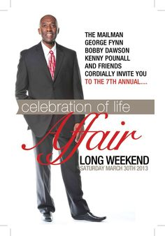 Mar 30, 2013 | The 7th Annual Celebration of Life Affair | Delta Toronto Airport West, 5444 Dixie Road | info georgefynn@rogers.com