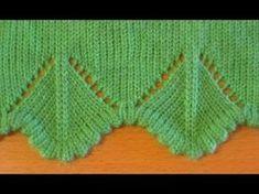 Машинное вязание уголков для оформления края изделия , часть 2 [] # # #Knit #Lace, # #Diana, # #Chevron, # #Knitting, # #Of #Agujas