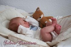 This listing is for a custom Reborn Baby doll. The doll pictured is of the prototype. I did not paint the doll in the photos. I will reborn this doll to your specifications. I work very closely with adopting families when reborning for someone. This baby will also come with a