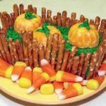 Make a Pumpkin Patch Cake