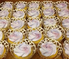 Sofia the First inspired cupcakes by Sweet Treats by Marta