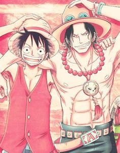 One Piece Ace et Luffy Sabo One Piece, One Piece Luffy, Anime One Piece, One Piece Comic, Monkey D Luffy, Anime Siblings, Ace Sabo Luffy, The Pirate King, One Piece Images