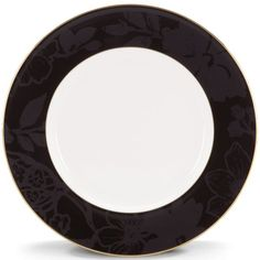 "Minstrel Gold 9"" Accent Plate By Lenox"