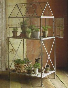 mini #greenhouse #diy