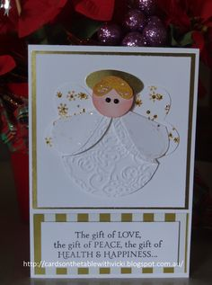 Cards on the table with Vicki: Angel Punch Art Card