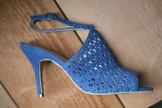 Beautiful A. Marinelli eyelet heels! Pretty, but not too dainty. 2 pairs left!! both size 7.5