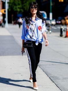 モード派の新・定番ボトムス! ラインパンツの最旬着こなしカタログ | FASHION | ファッション | VOGUE GIRL