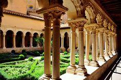 Saint-Sauveur Cloister, Aix-en-Provence, France