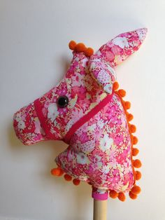 Hobby Horse 'Molly' by DeerRabbitWolfTiger on Etsy