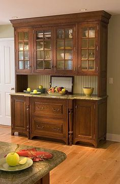 Like the style with beadboard and counter space.