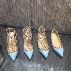 Valentino Studded Heels, Rockstud Shoes, Lady, Fashion, Moda, Fashion Styles, Fashion Illustrations, Fashion Models