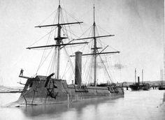 El CSS Stonewall, un acorazado de 1.390 toneladas construido en Burdeos, Francia, para la Armada Confederada en 1864. Después de cruzar el Atlántico, llegar a La Habana, Cuba, ya era mayo de 1865, y la guerra había terminado.  Las autoridades españolas tomaron posesión, pronto ...