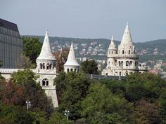 Fishermen's Bastion on Buda Castle Hill.
