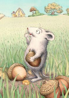 Field Mouse by Susan Lawson (Find her work: http://picture-book.com/users/susan-lawson)