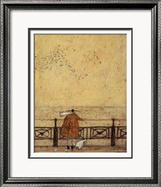 Watching the Starlings with Doris Prints by Sam Toft - AllPosters.co.uk