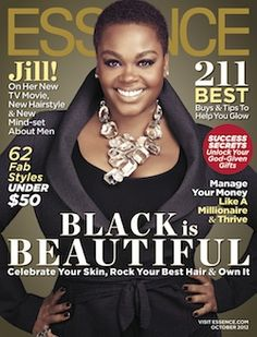 Check out Jill Scott gracing the cover of Essence magazine October 2012 issue. Don't you just love her natural TWA hair cut? V Magazine, Black Magazine, Magazine Covers, Black Girls Rock, Black Love, Beautiful Black Women, Beautiful People, Beautiful Things, Pretty People