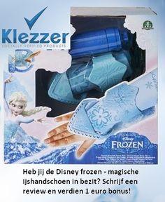 Heb jij de Disney frozen - magische ijshandschoen in bezit? Verdien 1 euro bonus door het schrijven van een review over de Disney frozen - magische ijshandschoen!