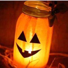 Lanterne di Halloween fai da te