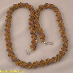 Autumn Swirl Bead Kit | BeadKitsByMail.com - Kits to make designer jewelry