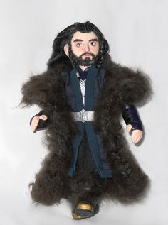 Thorin Oakenshield Art Doll OOAK The Hobbit Richard by RedCapStore, $90.00