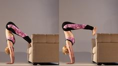 A press-up handstand might be the next step in advancing your asana practice.