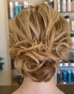 In love with this #Chignon I Julie Morgan: On Location Wedding Hair and Makeup Artist I #hairstyle