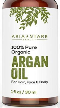 Aria Starr Beauty ORGANIC Argan Oil For Hair Skin Face Nails Beard Cuticles Best 100 Pure Moroccan Anti Aging Anti Wrinkle Beauty Secret EcoCert Certified Cold Pressed Moisturizer *** Check out this great image : All Natural Skin Care Pure Argan Oil, Argan Oil Hair, Organic Argan Oil, Face Skin, Face And Body, Nail Oil, Nail Cuticle, Skin So Soft, Smooth Skin