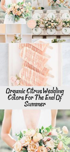 Organic Citrus Wedding Colors for the End of Summer #gardenweddingShoes #gardenweddingCeremony #gardenweddingAltar #gardenweddingStage #gardenweddingTheme