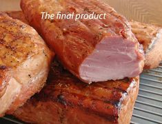 Making Buckboard Bacon at Home Smoked Meat Recipes, Sausage Recipes, Pork Recipes, Smoked Beef, Carne Asada, Charcuterie, Home Made Sausage, Sausage Making, Curing Bacon