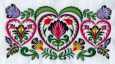 Wycinanki Embroidery: Polish Folk Art for the Ages