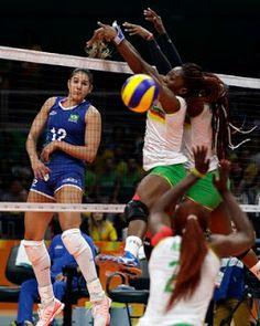 Blog Esportivo do Suíço:  Em busca do tri olímpico, Brasil passa fácil por estreante Camarões