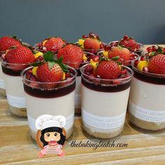 The Baking Biatch || by Cynthia Lim: Vitagen Ribena Cheesecake