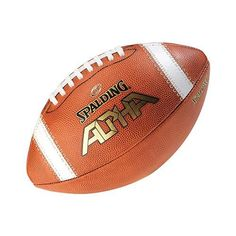 362844b20 Spalding Official Size Football - Alpha Leather Football Officials