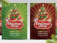Christmas Party Flyer by Vitali Raidziuk