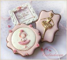 Ballerina cookies - cookie by Evelindecora