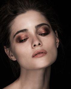 Metallic Beauty - Photo: Vikki Grant  MUA: Lica Fensome http://www.licafensome.com Model: Thea http://establishedmodels.com
