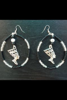 d32bed3b2 Handcrafted Nefertiti Egyptian Earrings find @ royalessence.storenvy.com  #jewelry #egyptianjewelry