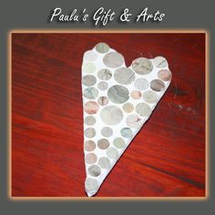Stone Mosaic heart are available in our store in Diaz. Call us on: 076 372 148 Coffee Crafts, Stone Mosaic, Arts And Crafts, Hearts, Store, Gifts, Decor, Presents, Dekoration