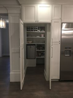 Pantry open