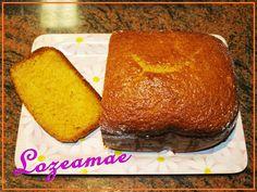 bizcocho de naranja en Panificadora Pan Dulce, Lidl, Sin Gluten, Margarita, Cornbread, Sweet Recipes, Banana Bread, Muffins, Brunch