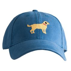 Harding Lane Yellow Dog Caspian Blue Unisex Hat - MetroShoe Warehouse